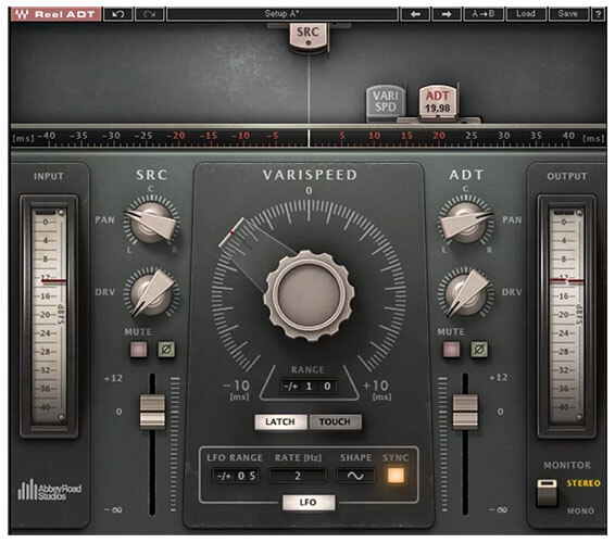 Waves Reel ADT Artificial Double Tracking Plugin