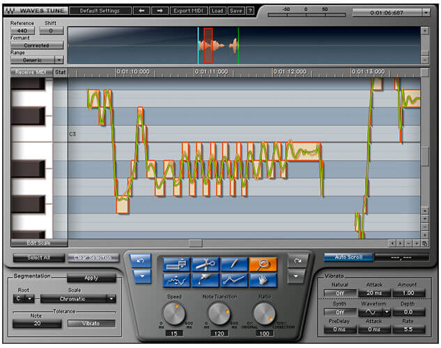 Waves Tune Vocal Pitch Correction Plugin