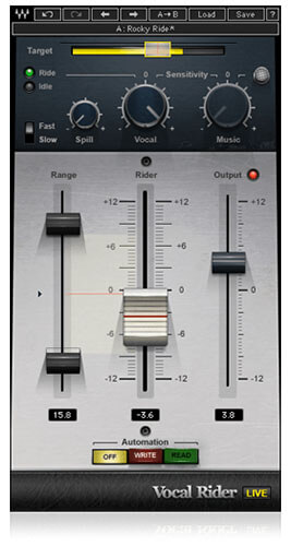 Waves Vocal Rider Automatic Level Riding Plugin