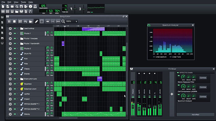 LMMS Music Production Software